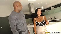 Screenshot Busty Simone  Garza Discovers Anal With Black Cock