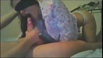 SissyHypnoz.com - Blind folded girl gives delic...