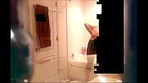 Sister Showering. Me jizzing panties