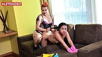 LETSDOEIT - Horny Female Dominatrix Abuses Her ...