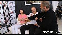 Olf fart fucks throat of a juvenile gal pornhub video
