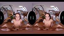 Screenshot VRHUSH Petite L exi Dona rides a cock in VR PO a cock in VR POV