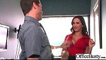 Hard Sex Action With Slut Big Tits Office Girl (Ashley Adams) video-02