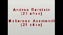 ANDREA BURSTEIN y MAKARENA AZUMENDI hot