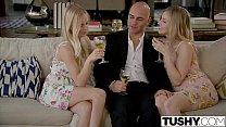 TUSHY Girlfriends Alex Grey and Karla Kush Try Anal Together