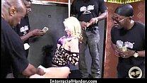 White Blond on Black Steele 7