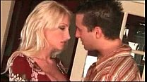 Blonde Bombshell Nadia Hilton Gets Big Boob Tit...