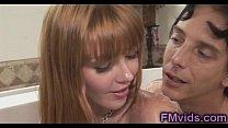 Hot bath with redhead beauty Marie McCray