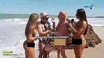 Panico na TV (,brunette, Nicole Bahls and Juliana Salimeni, blonde thumbnail