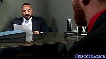 Gay mature redbears job interview cums to climax thumbnail