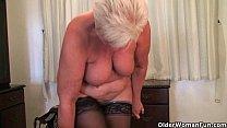 British mom Elaine can't control her masturbation addiction thumbnail
