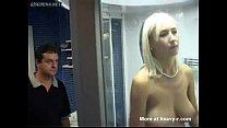 Blonde bitch gets bondage and fucked Vorschaubild