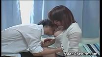 Hot asian home teacher with big juggs [그라비아 아이돌 japanese Gravure]