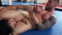 Nude Battle of The SEXES - WOMAN IN PERIL! Milana Vs. Erik pornhub video