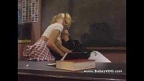 Two Horny Schoolgirls Fuck With Teacher  -