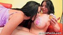Jayden Jaymes Big Boob Lesbian Fun
