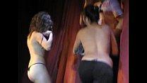 Strip tease contest