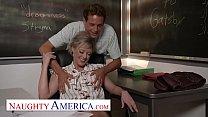 Naughty America - Dee Williams fucks her student pornhub video