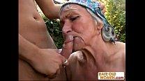 Ugly Hairy Granny Fucks pornhub video
