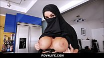 Busty Arabic teen violates her religion - Full Video: ceesty.com/wWGuuL