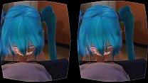 Bluehair 3d Pov VR