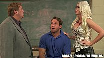 Brazzers - GIgi Allens deepthroats her students cock [선생님 teacher]