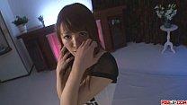 Maomi Nakazawa gives a slow asian blow job and gets fucked thumbnail