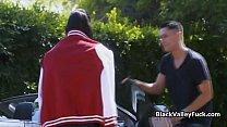 Big tit ebony steals Asian besties bf Preview