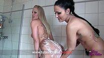 VISIT-X   2 Deutsche Teens besorgen es sich unter der Dusche