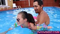 Swim and dick lessons for teenie teen Carolina ...