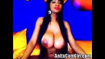 Natural busty latina chick Thumbnail