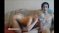 Blonde Teen Enjoy Big Cock On Webcam-tinacams.com thumb