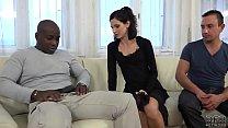 Cuckold Training Wife fucks black man in front ...