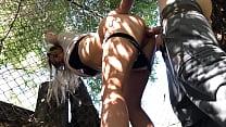 Slave girl is given a facial, Erin Electra
