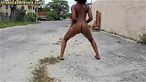 public in nude claire veronica Ebony