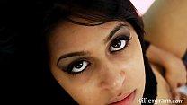 Hot Indian babe Miya Rai gets her wet pussy fuc...