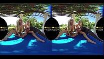 Blondes Playing Some Pokemon Go Outside - 3000Girls.com Ultra 4K Vr
