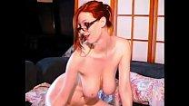Image: Webcam Busty Redhead