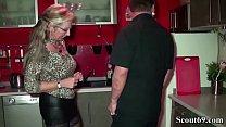 German MILF Seduce Young Worker to Fuck When Home Alone Vorschaubild