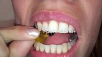 Vore Fetish - Silvia Eats Gummy Bears