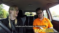 Fake Driving School Creampie for teen leaner with hairy pussy - 9Club.Top