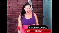 Порно онлайн в тренажерном зале