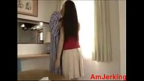 Video bokep japanese teen couple enjoying morning hardcore sex