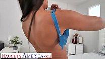 Naughty America Kassandra Kelly (Rachel Starr) takes care of her husband's needs