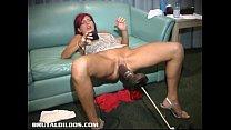 Eve slammed by a brutal dildo machine Vorschaubild