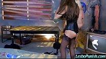 Cute teen Lez Girl Get Punish From Mean Lesbians (aubrey&jenna&nina) video-13 thumbnail