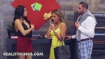 Sneaky Sex - (Serena Santos, Damon Dice) - Semen Seamstress - Reality Kings thumbnail