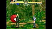 Kula Diamond & Kuromaru Vs. Sailor Mercury