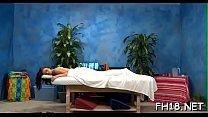 Erotic massage clip scene