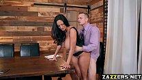 Bill Baileys big cock suck by house wife Ava Ad...